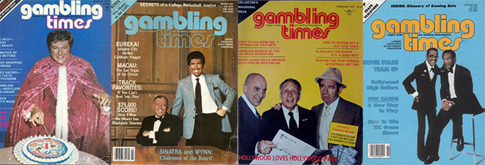 Gambling Times classic covers
