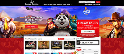 how to sign up at Royal Panda India