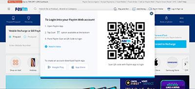 Teen patti Paytm QR code