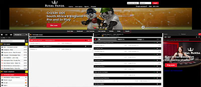 Royal Panda sports betting online