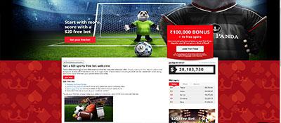 Royal Panda sports bonus