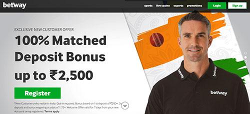 Betway sports bonus