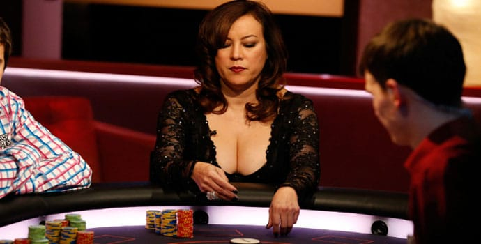 Jennifer Tilly di meja poker